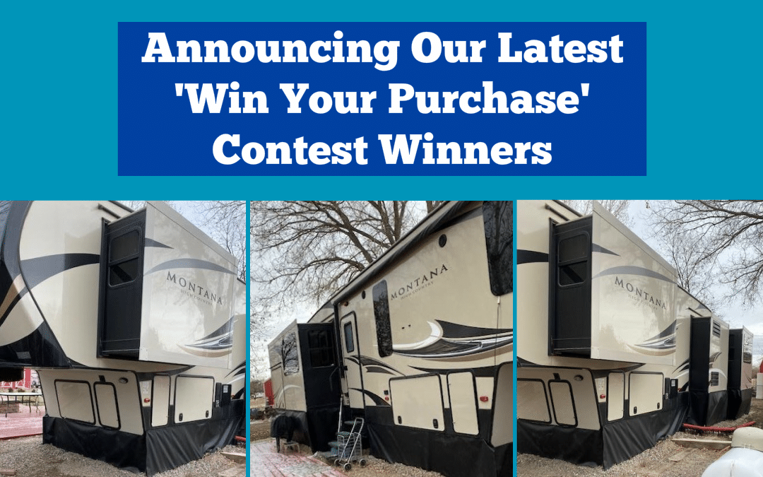 Announcing Our Latest 'Win Your Purchase' Contest Winners