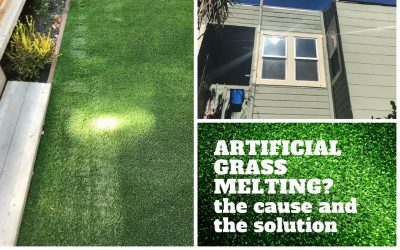 Artificial Grass Melting