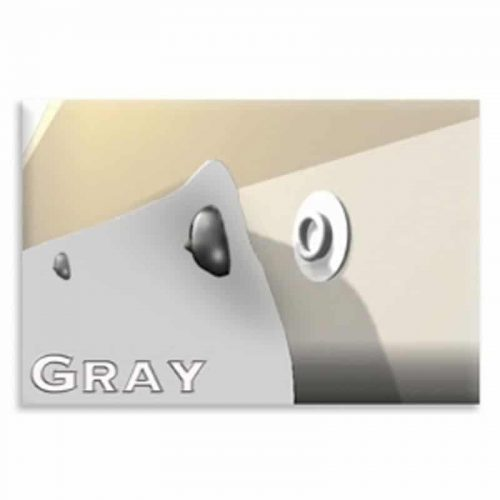Diamond Weave Gray RV Skirting