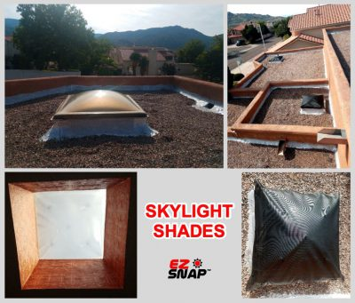 Domed Skylight Shade Review Photos from Andy H