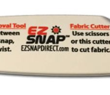 EZ Snap Removal tool with fabric cutter