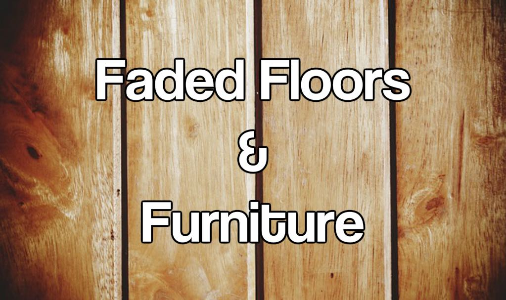 How To Fix The Problem Of Faded Floors, Carpets And Furniture