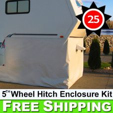 Fifth 5th Wheel Hitch Enclosure Skirting