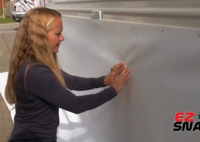 Fitting your own RV Skirting