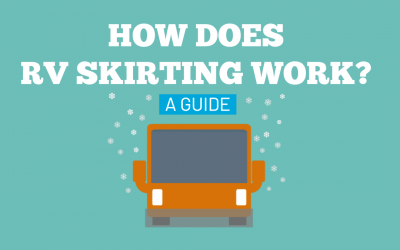 How does RV skirting work? A guide