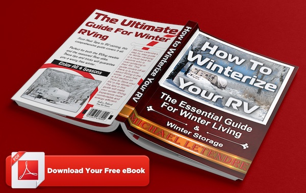 FREE eBook...'How to Winterize Your RV'