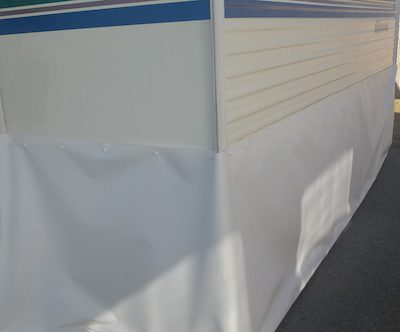 RV Skirting Review Photo of RV Skirting