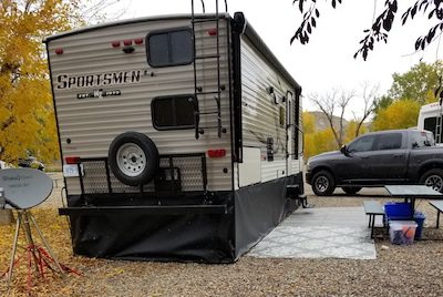 Sportsmen RV Skirting Review Photo from Kevin Rusk
