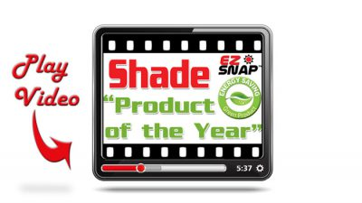 EZ Snap Exterior Shade Screen Video